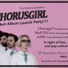 Chorusgirl flyers and Facebook headers