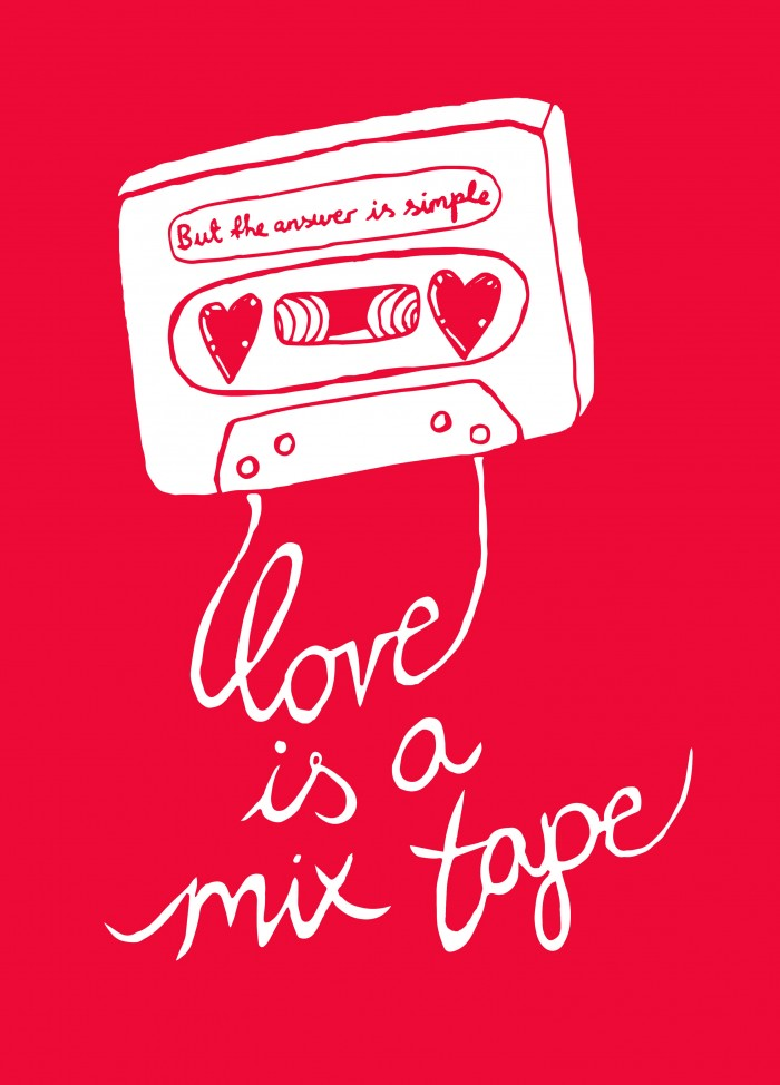 Love is a Mix Tape poster