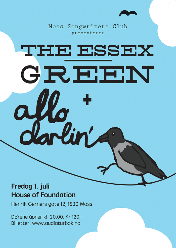 The Essex Green + Allo Darlin' poster