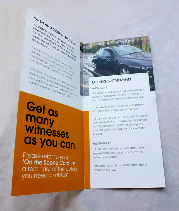 Accident Witnesses Leaflet