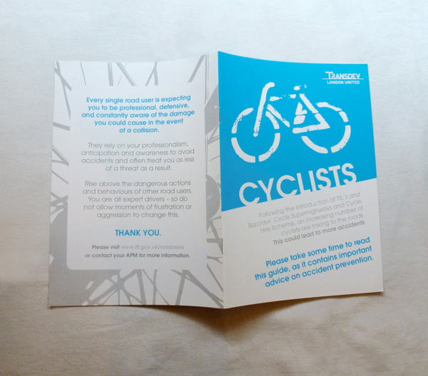 Cyclists Brochure