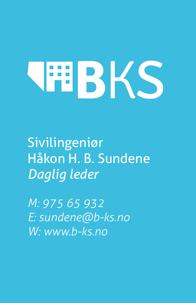 BKS logo + business card